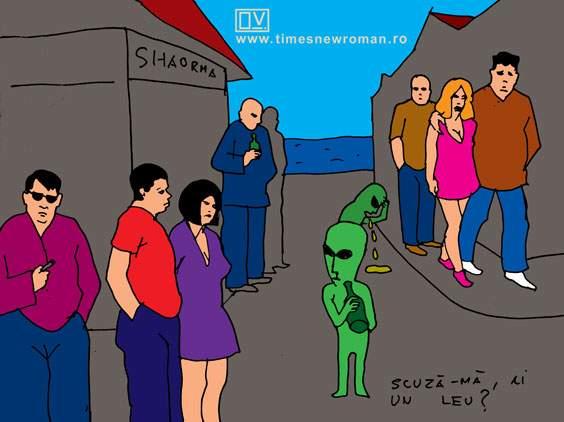 Extratereştrii în Vamă