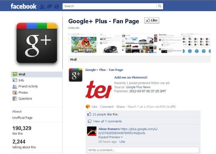 Facebook va lansa o reţea unde utilizatorii Google Plus să poată, în sfârşit, să socializeze