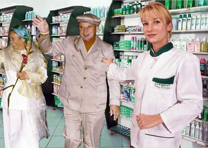 Farmaciile Catena au un nou spot tv pentru nostalgici, cu Nicolae şi Elena Ceauşescu