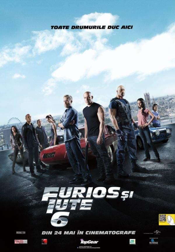 Fast & Furious 6 – Nu vorbe, nu fapte, ci km/h!!!
