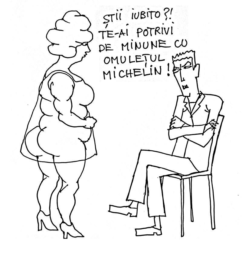 Femeia Michelin
