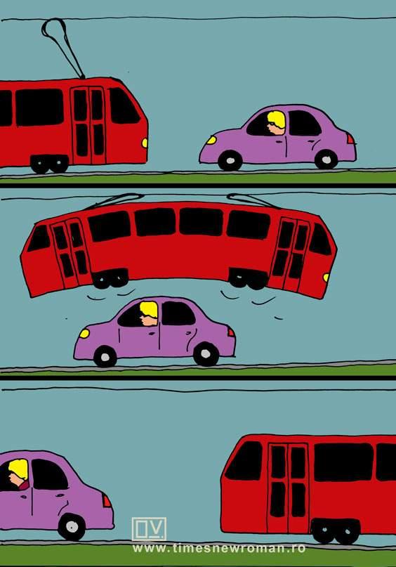 Femeia și tramvaiul