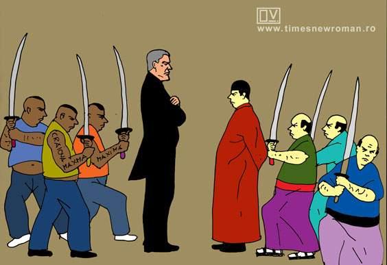 Fiecare cu samuraii lui