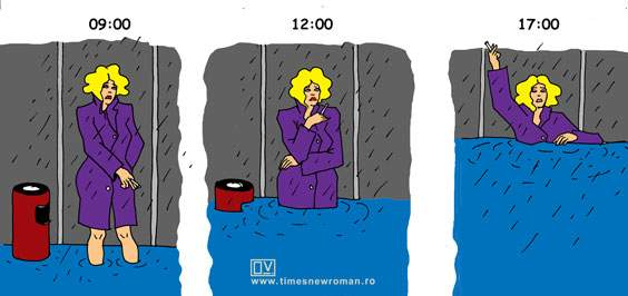 Fumatul în ploaie