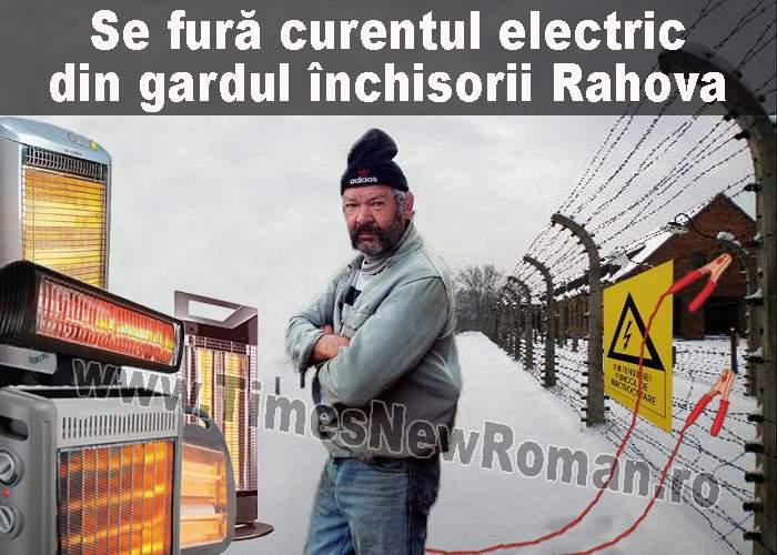 Furt de curent din gardul electric al Penitenciarului Rahova