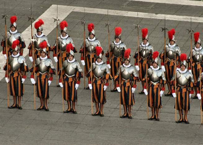 Ce nu ştiaţi despre garda elveţiană de la Vatican