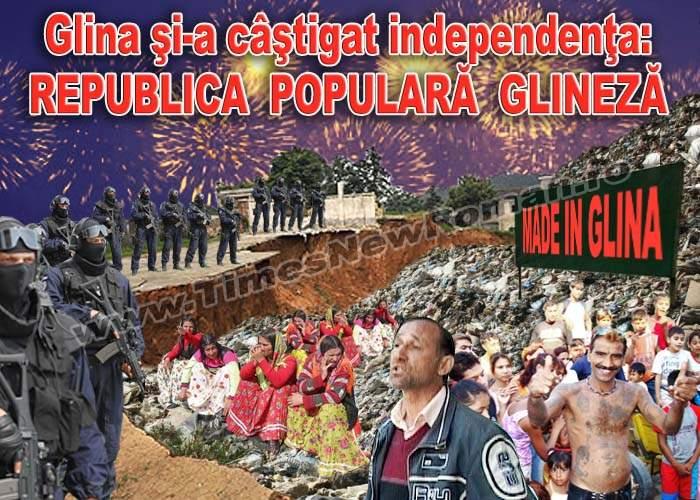 Glina și-a proclamat independența, devenind Republica Populară Glineză