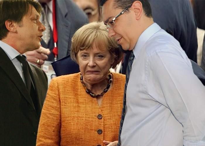 Guvernul României reduce atribuţiile Angelei Merkel ca reactie la declaraţiile pro-Băsescu