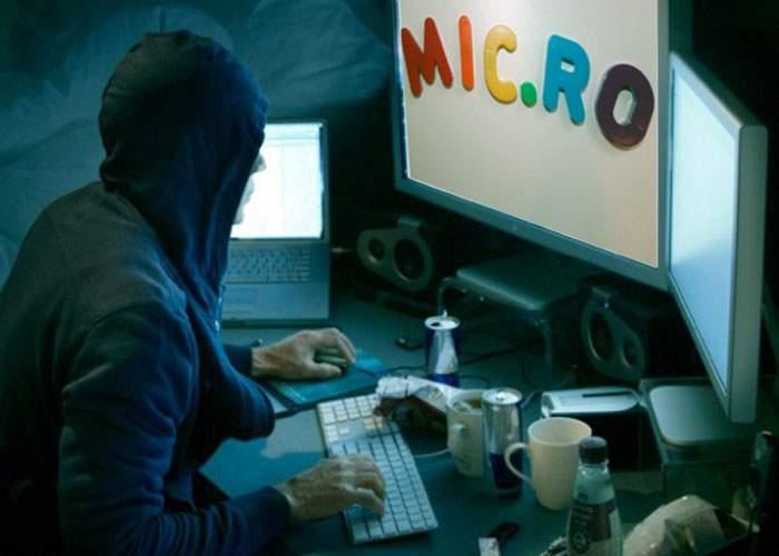 Hackerii Anonymous au spart site-ul Mic.ro dar n-au avut ce să ia de acolo!