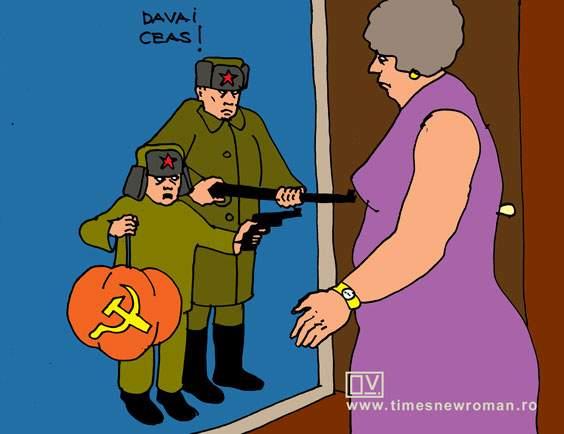 Halloween-ul bolșevic