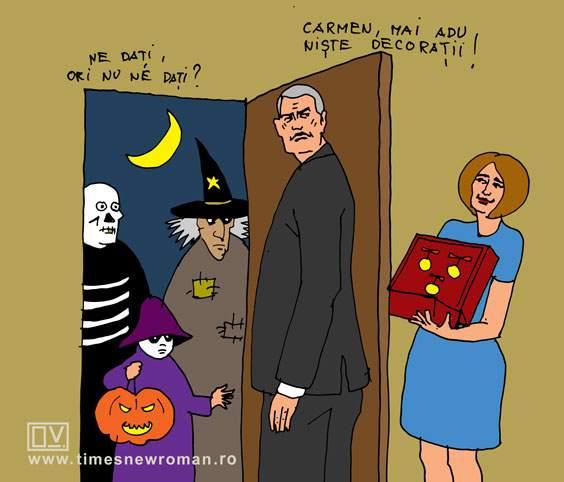 Halloween-ul lui Iohannis