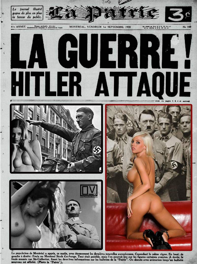 Hitler attaque