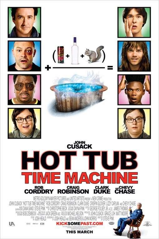 Hot Tub Time Machine – de pe vremea când Michael Jackson era negru
