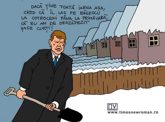 Iarna preşedintelui