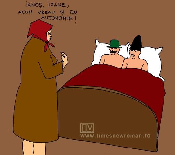 În pat cu secuiul