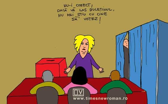Incident la o secție de votare