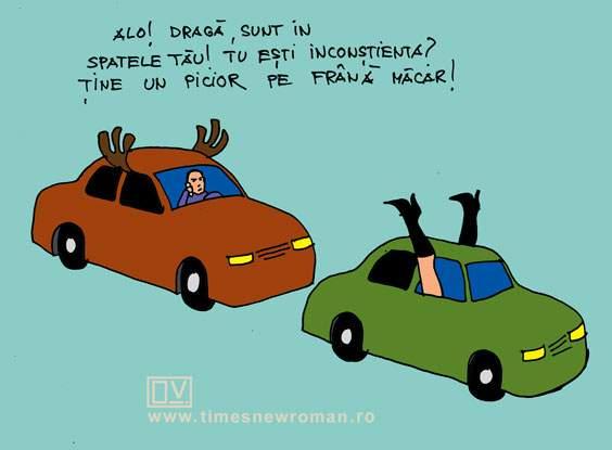 Încornoratul în trafic