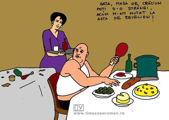 Între mese