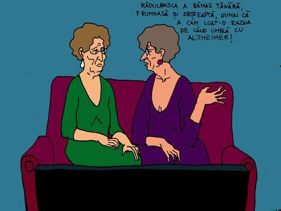 Invidia pensionarelor