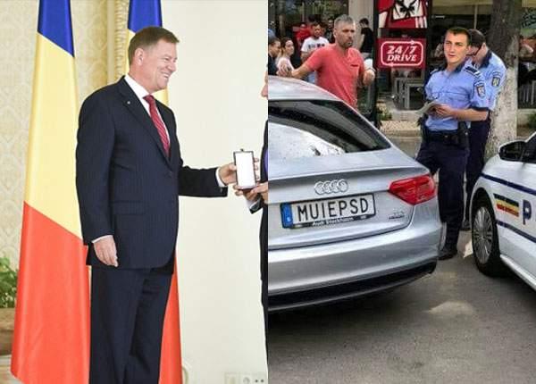 Cât să mai aşteptăm, Iohannis? De ce nu e decorat tipul cu maşina MUIEPSD?