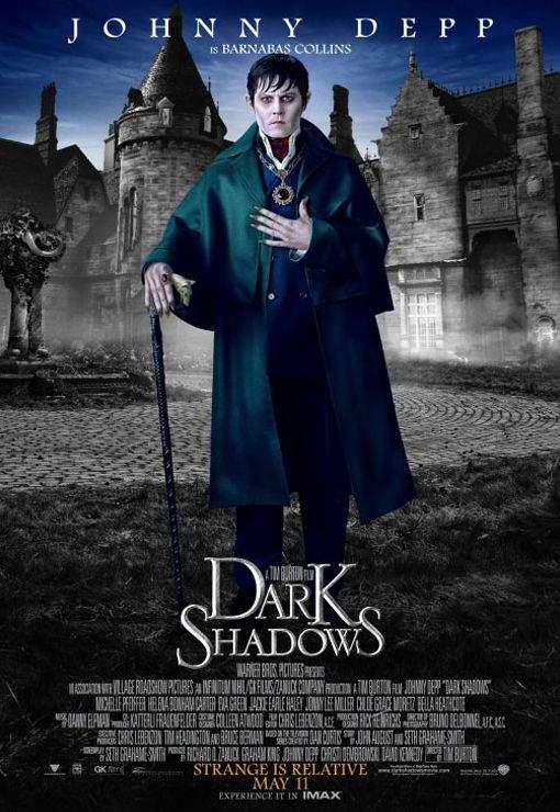 Dark Shadows – Johnny Depp & Tim Burton, atinşi de blestemul remake-ului!!!