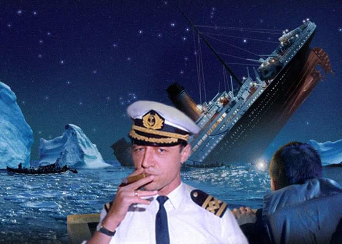"""Jurnalul publică mărturia unui supravieţuitor de pe Titanic: """"Băsescu era la cârmă!"""""""
