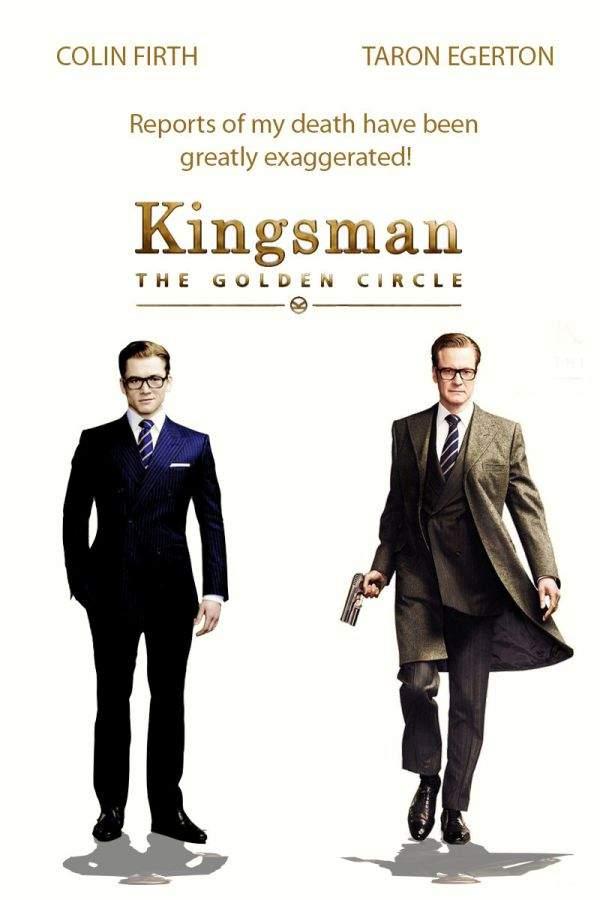 Kingsman: The Golden Circle (2017) – Mai puțin distins, dar mai copios…