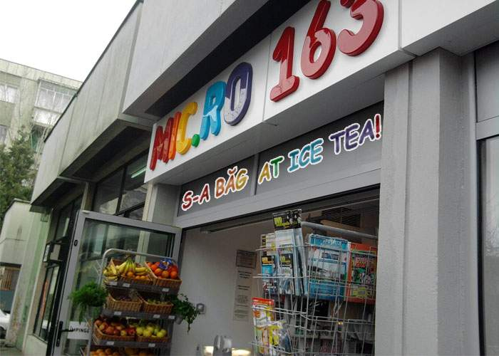 Prostie pură! Magazinele Mic.ro, aprovizionate cu pungi de gheaţă, ventilatoare şi Ice Tea!