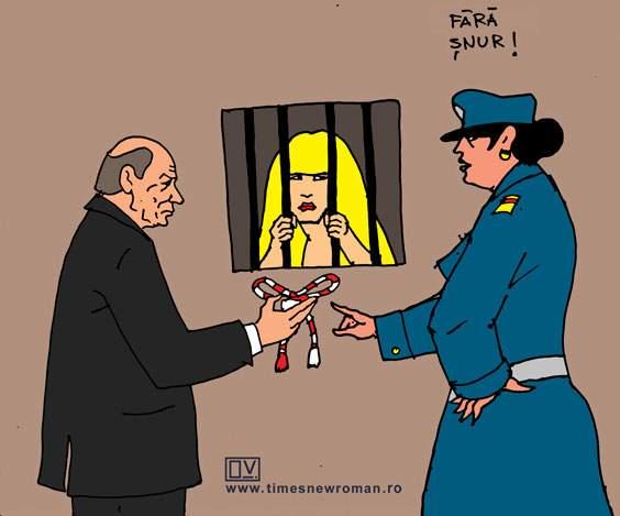 Mărţişorul arestat