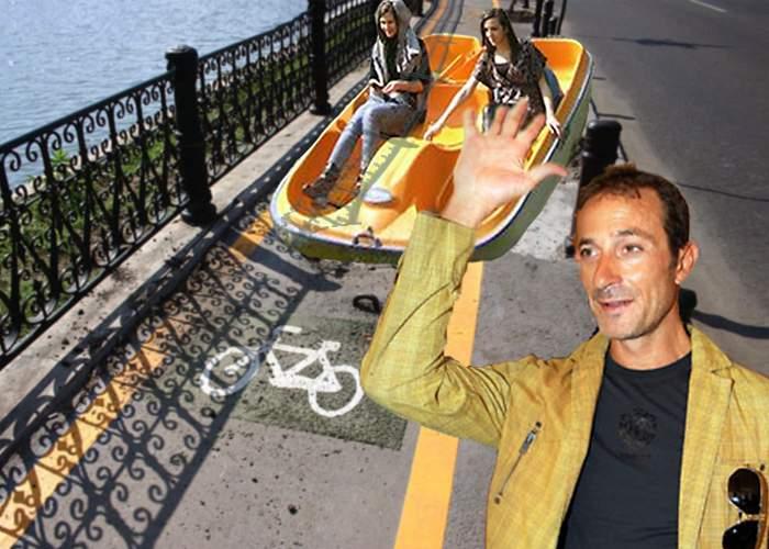 Mazăre le promite constănţenilor că va amenaja piste pentru hidrobiciclete în oraş