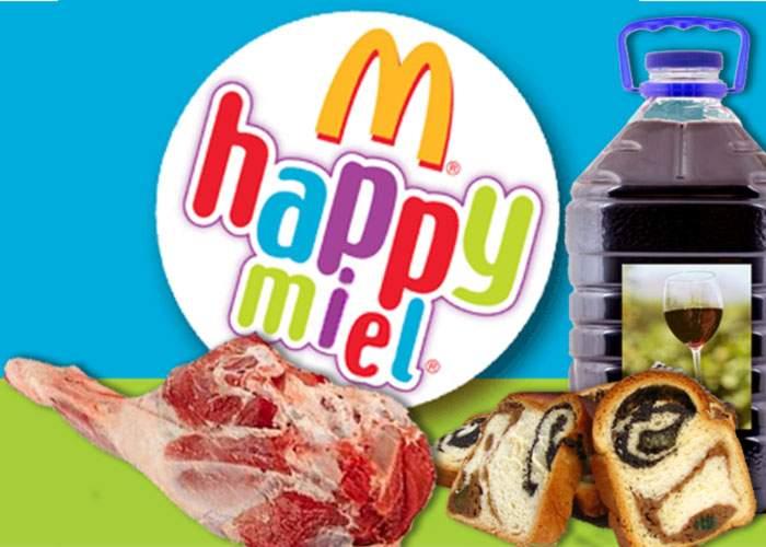 McDonald's lansează de Paşti meniul HappyMiel!