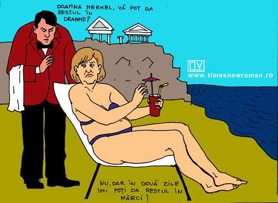 Merkel în concediu