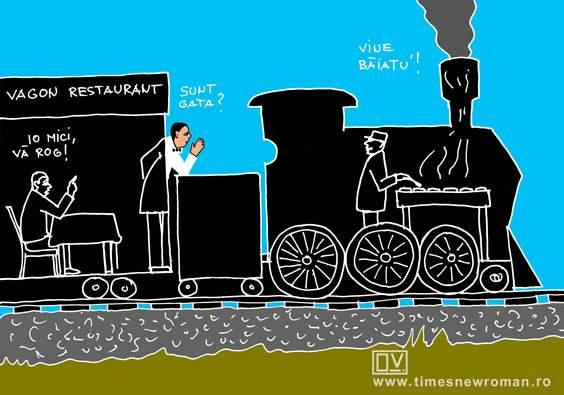 Mersul trenurilor