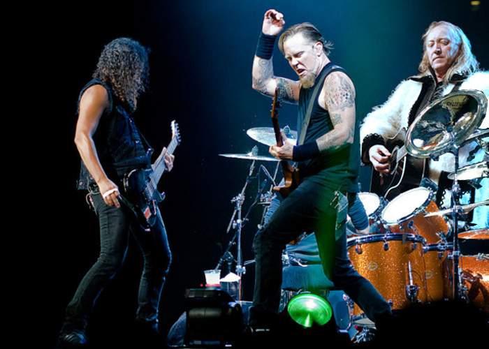 Metallica va scoate un album împreună cu Ştefan Hruşcă!