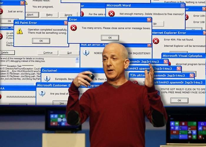 Microsoft a dezvăluit în avanpremieră cele mai noi şi revoluţionare buguri din Windows 8!