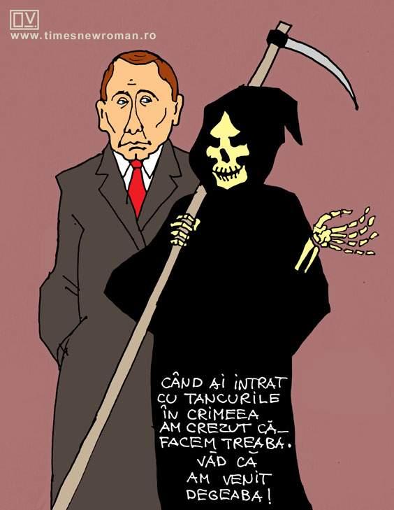 Moartea în Crimeea