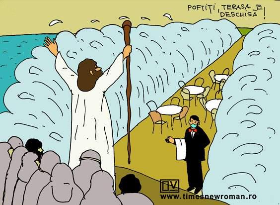 Moise în fața miracolului