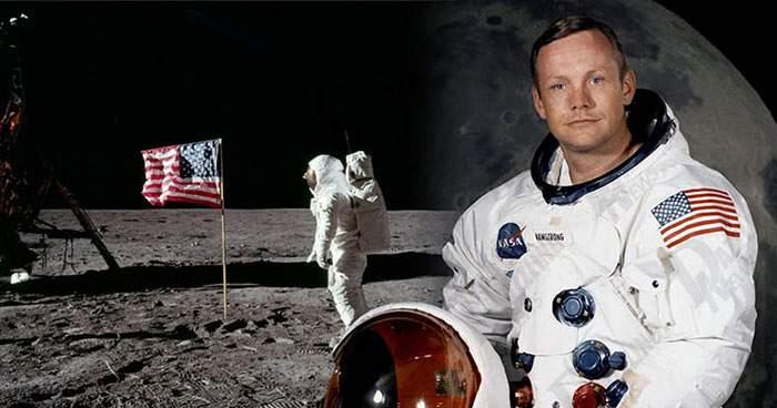 50 de ani de la debutul în cinematografie al actorului american Neil Armstrong