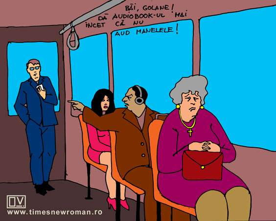 Nesimțitul din tramvai