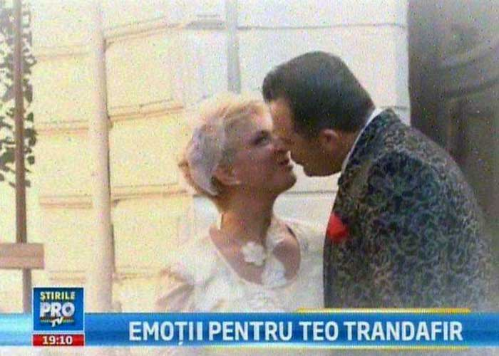 Jenant! Niciun canal nu a reuşit să achiziţioneze drepturile de televizare pentru nunta lui Teo!