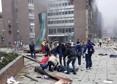 Președintele Norvegiei, de negăsit după atentatele de vineri