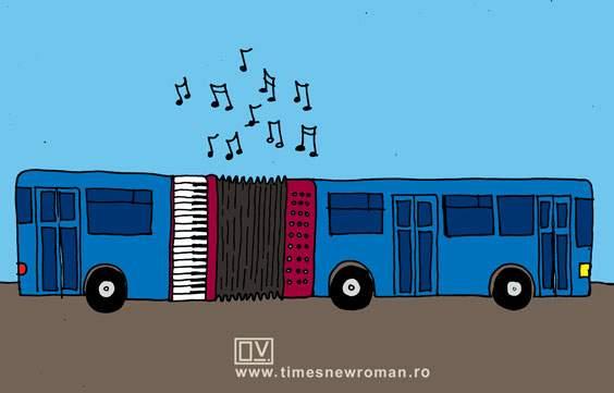 Noul autobuz de Ferentari