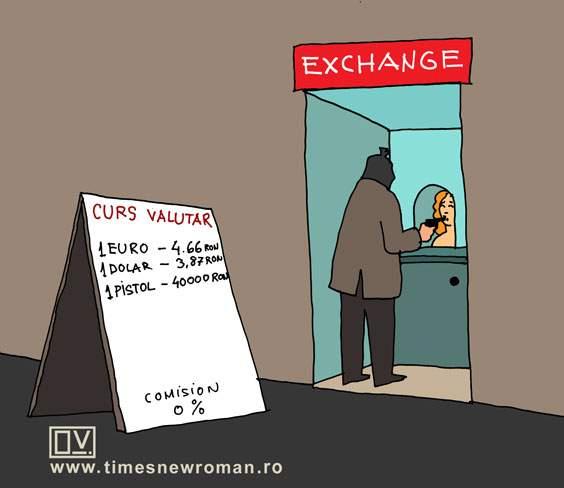 Noul curs valutar