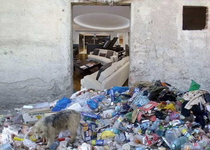 Dezgustător! O bătrână stătea în garsoniera ei din Berceni într-o curăţenie impecabilă!