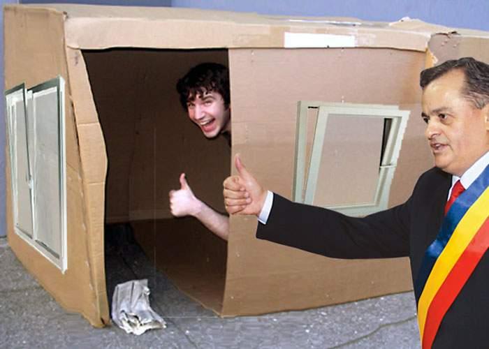 Onţanu promite că va reabilita termic cutiile de carton ale homeleşilor din sectorul 2