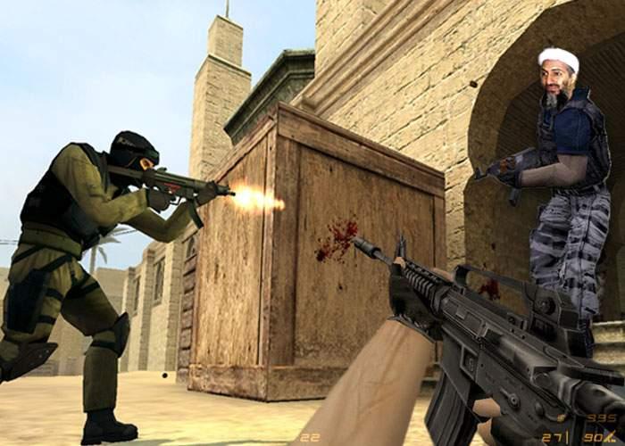 """Casa în care a fost """"omorât"""" bin Laden e o hartă celebră din Counter-Strike"""