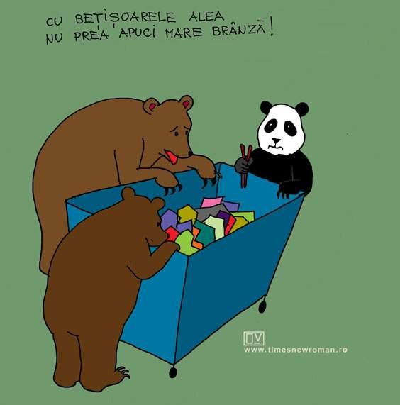 Panda din Răcădău