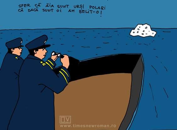 Panică pe Titanic