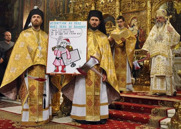 Patriarhia a pronunţat o sentinţă de condamnare la moarte pentru străinii care fac glume cu români