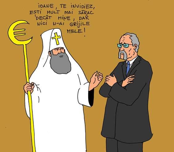 Patriarhul și Țiriac